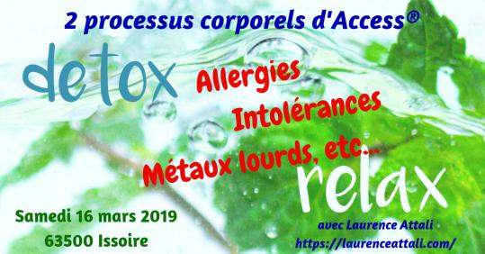 Allergie, Detox