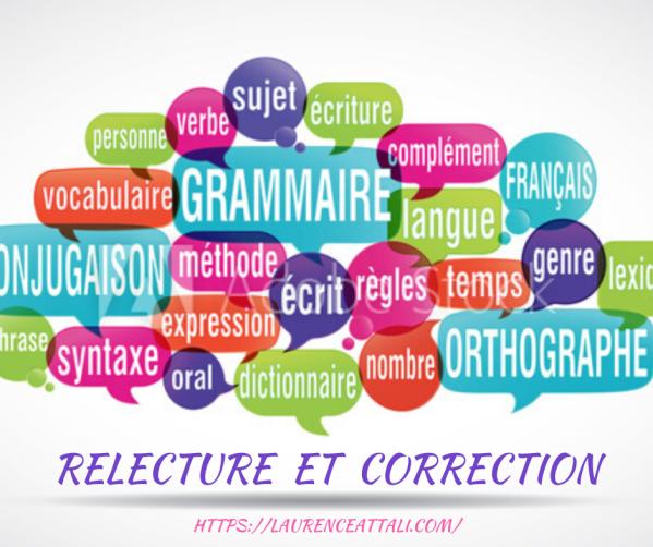 Relecture et correction